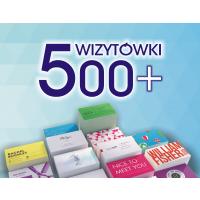 Wizytówki 500+