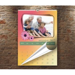 Foto kalendarz wiszący A4 - 13 stron