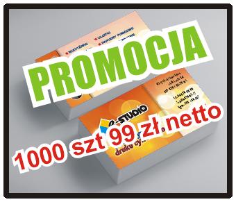 Wizytówki 1000 szt PROMOCJA